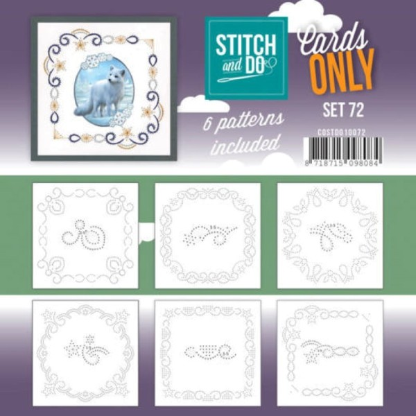 Cartes seules Stitch and do - Set n°72 - Photo n°1