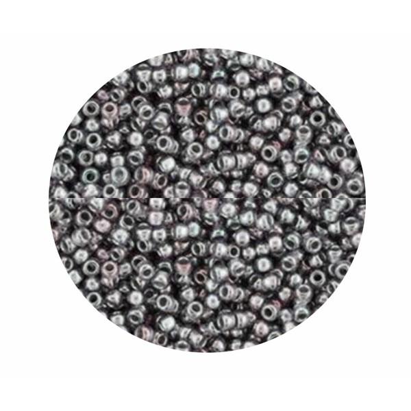 20g argent doublé lustre moyen Améthyste 1010 verre rond violet TOHO perles de rocaille 15/0 Tr-15-1 - Photo n°1