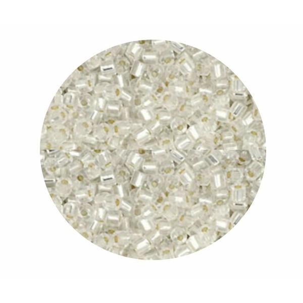 20g argent doublé Cristal 21 Hexagone 11/0 verre Japonais TOHO perles de rocaille Th-11-21 2.2 mm 11 - Photo n°1