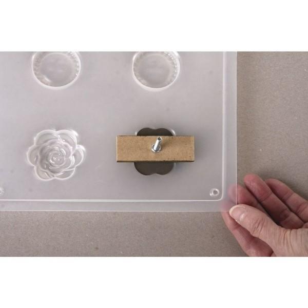 Kit pour 6 Pommeaux Déco en béton avec tous les accessoires pour boutons de tiroirs - Photo n°4