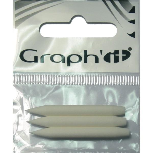 Graph'it Sachet de 6 pointes brush - Photo n°1