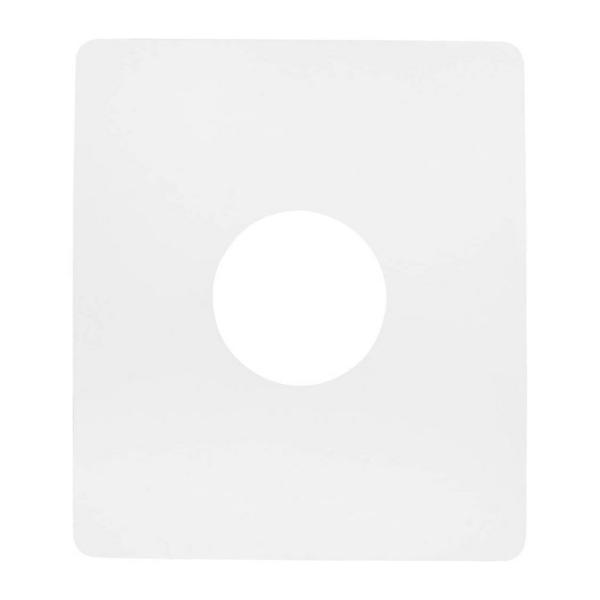 Porte-Moule en Plastique rigide lavable, 24x21cm, découpe ø 8cm, Réutilisable pour béton créatif - Photo n°1