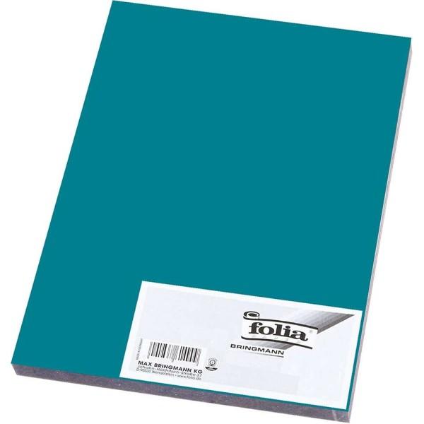 Caoutchouc mousse (L)290 x (H)400 mm - Turquoise - Photo n°1