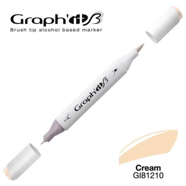Graph'it brush marqueur à alcool 1210 - Cream - Photo n°1
