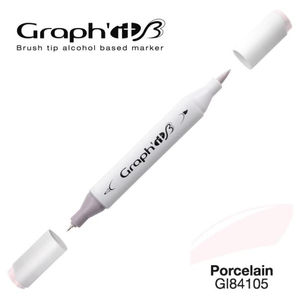 Graph'it brush marqueur à alcool 4105 - Porcelain - Photo n°1