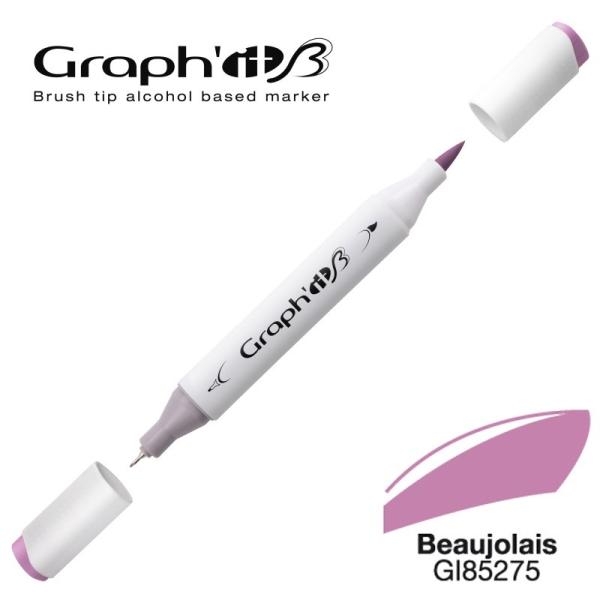Graph'it brush marqueur à alcool 5275 - Beaujolais - Photo n°1
