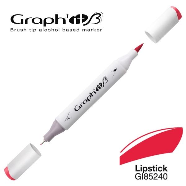 Graph'it brush marqueur à alcool 5240 - Lisptick - Photo n°1
