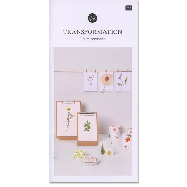 Livret DIY Made by me - Fleurs préssées - 17 pages - Photo n°1