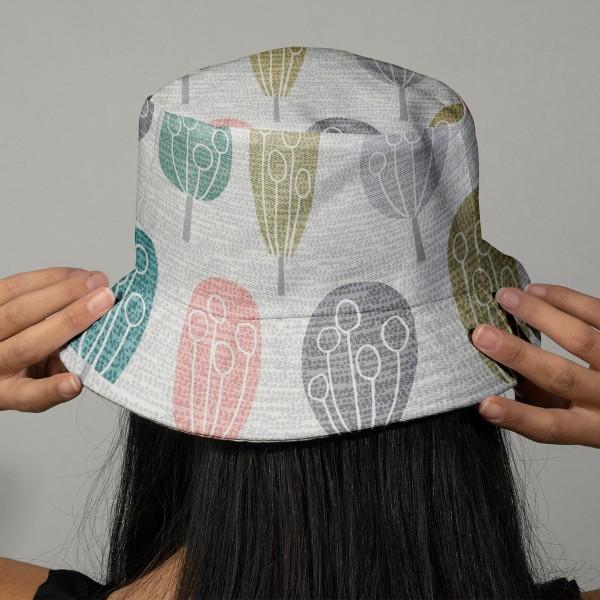 Tissu Toile de Coton Dashwood - Arbres - Par 10 cm - Photo n°2