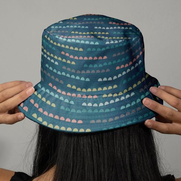Tissu Toile Coton Dashwood Elements - Cailloux - Vendu par 10 cm - Photo n°2