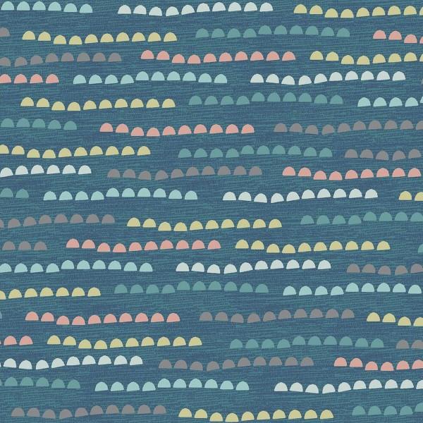 Tissu Toile Coton Dashwood Elements - Cailloux - Vendu par 10 cm - Photo n°1