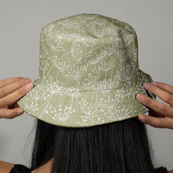 Tissu Toile Coton Dashwood Elements - Pissenlits - Vendu par 10 cm - Photo n°2
