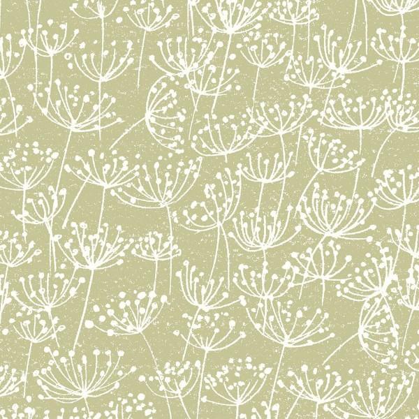 Tissu Toile Coton Dashwood Elements - Pissenlits - Vendu par 10 cm - Photo n°1