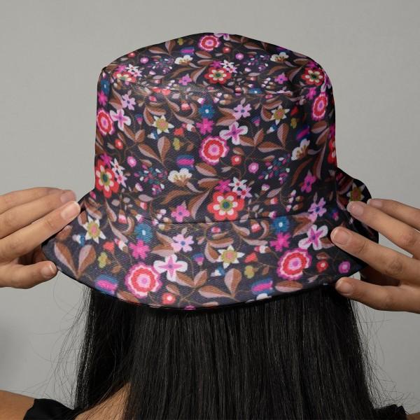 Tissu Velours milleraies Dashwood - Kaleidoscope Navy / Violet - Vendu par 10 cm - Photo n°2