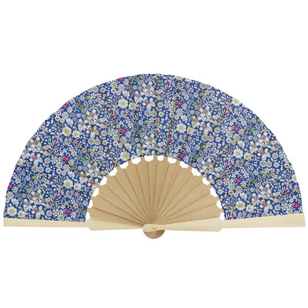 Kit couture éventail - Tissu Liberty June's Meadow - 23,5 cm - Photo n°2