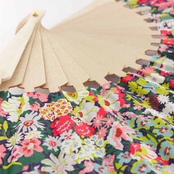 Kit couture éventail - Tissu Liberty Fabric Thorpe - 23,5 cm - Photo n°5