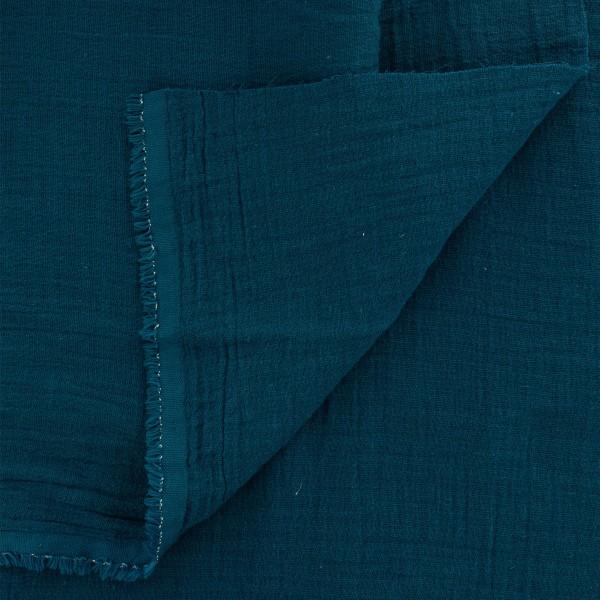 Tissu double gaze de coton - Vendu par 10 cm - Photo n°2
