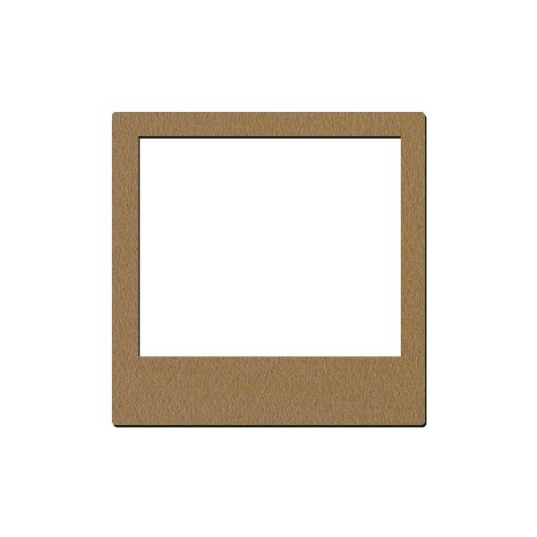 Cadre en bois Photobooth - 10 x 10 cm - 1 pce - Photo n°1