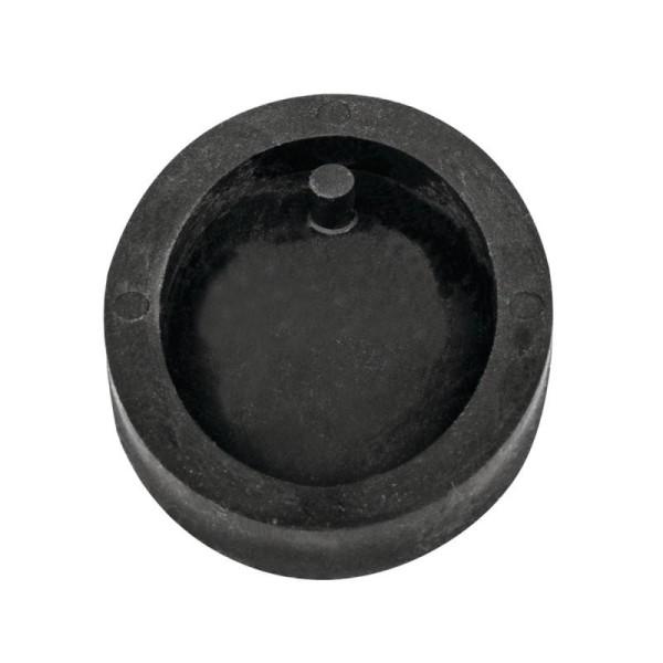 Moule à bijoux ovale pour béton, Pendentif en caoutchouc flexible, 3,9 cm, remplissage 7 mm - Photo n°1