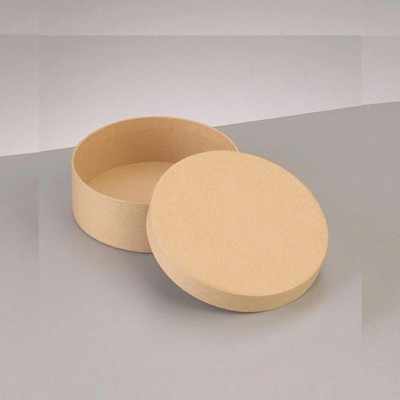 boite ronde haute avec couvercle en carton diam 10 5cm x haut 6cm d corer boite en. Black Bedroom Furniture Sets. Home Design Ideas