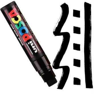 Marqueur Posca pointe rectangulaire extra-large 15 mm Noir