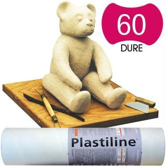 Plastiline Pâte à modeler de précision  1 kg  dureté 60 Ivoire