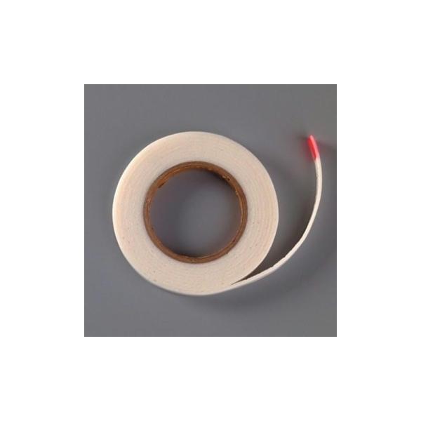 Ruban adhésif double face mousse 3D, épaisseur 2 mm, largeur 10 mm, 2 mètres - Photo n°1