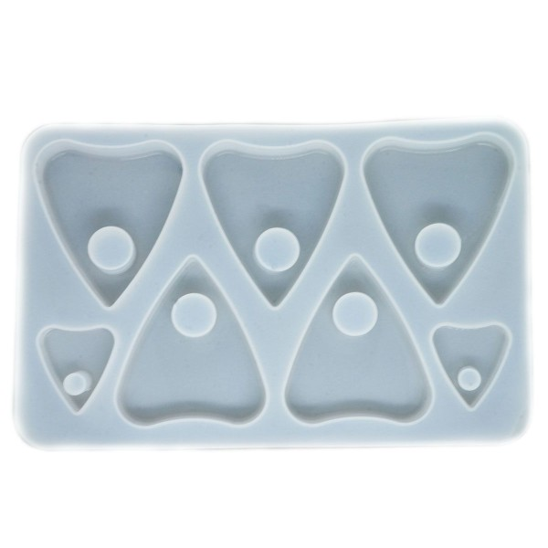 1pc Bricolage Époxy Mold Set De Pendentifs Et de Ouija Décoration de Moule en Silicone de Réglage du - Photo n°1