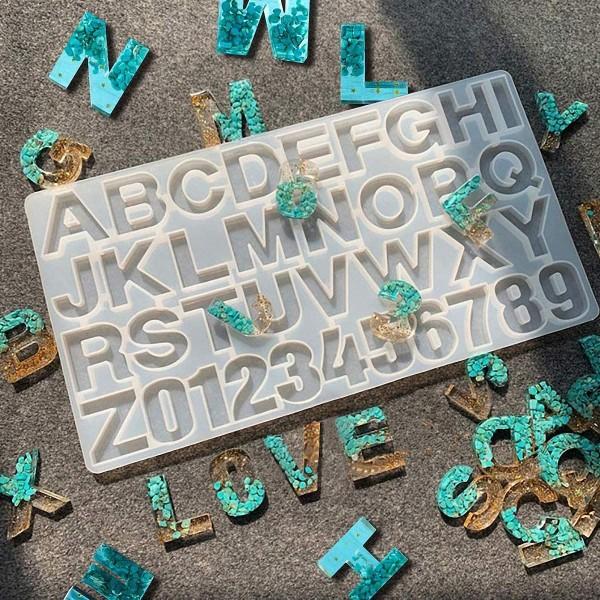 Moule en silicone - Alphabet - 35,5 x 19,5 cm - 1 pce - Photo n°3