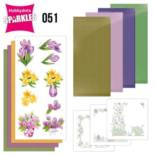 Kit Sparkles Set 51 - Fleurs de printemps - Photo n°1