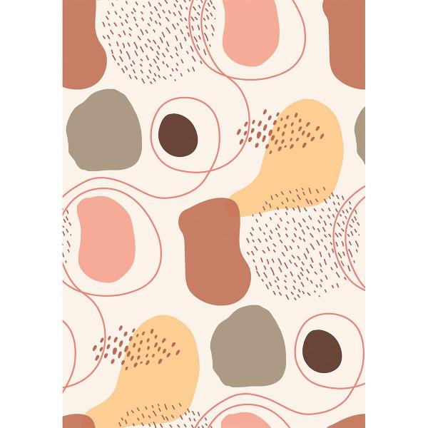 Assortiment Décopatch Texture - Line Art - 4 feuilles - Photo n°4