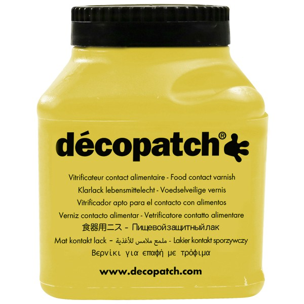 Vernis contact alimentaire Décopatch - 180 ml - Photo n°1