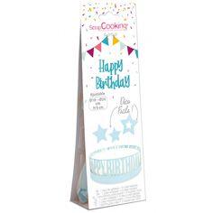 Décoration de gâteau - Happy Birthday - 4 pcs