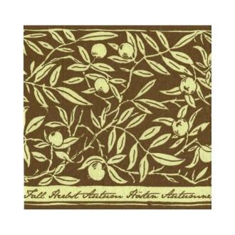 Lot de 2 Serviettes en papier motif  Feuilles d'automne