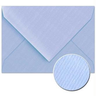 Enveloppe doublée Vergé de France 114 x 162 Bleu x 25