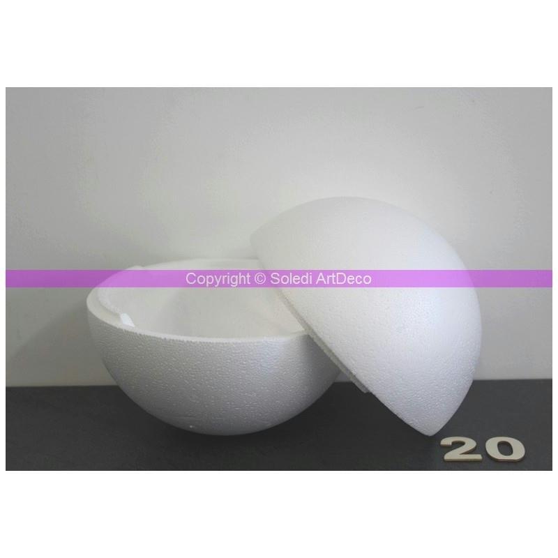 boule polystyr ne styropor s parable diam 20 cm 200 mm densit pro boules polystyr ne creavea. Black Bedroom Furniture Sets. Home Design Ideas