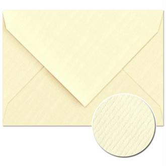 Enveloppe doublée Vergé de France 114 x 162 Ivoire x 25