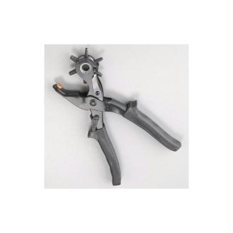 Poinçonneuse revolver à 6 trous de 2,5 à 5 mm, pour cuir, cuivre, carton, tissu