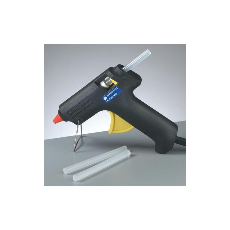 pistolet colle 20w pour b ton de diam 7 4 mm avec 3 b tons de colle vernis colle papier. Black Bedroom Furniture Sets. Home Design Ideas