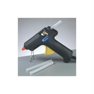 Pistolet à colle, 20W, pour bâton de diam. 7,4 mm, avec 3 bâtons de colle