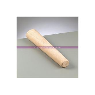 Poignet en bois, Long. 35 cm, diam. de 41 à 72 mm