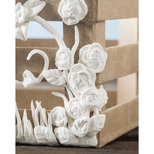 Pot de 900 gr de pâte mâché papier blanc, prête à l'emploi, multi-surfaces, sèche à l'air - Photo n°3
