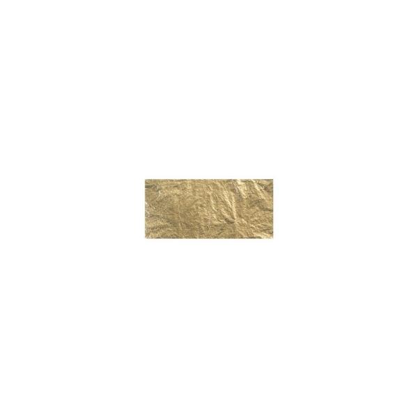 Déco métal, 14x14 cm, 5 feuilles Or - Photo n°3