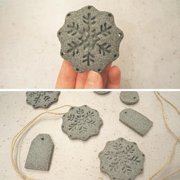 Pâte à modeler aspect Pierre, 400 g, en véritable sable de granit, autodurcissante - Photo n°3