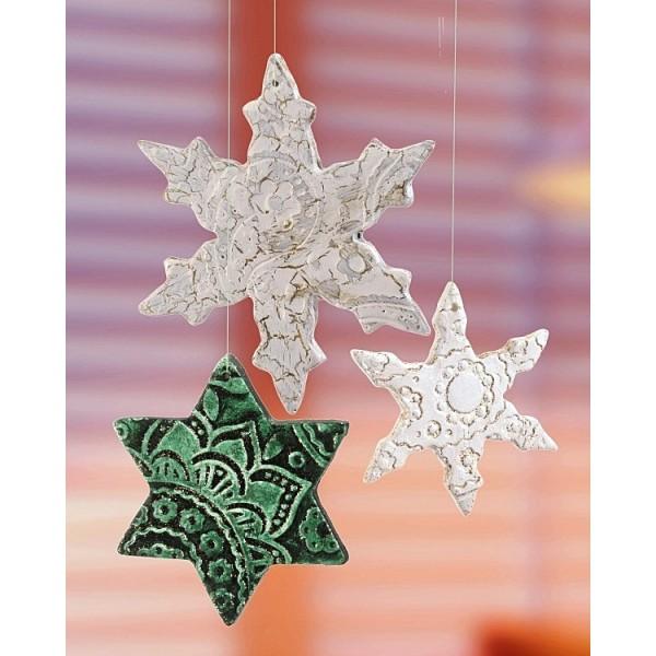 Pâte à modeler effet Terre cuite Blanche séchant à l'air, Keramiplast 500 g, effet glaise - Photo n°3