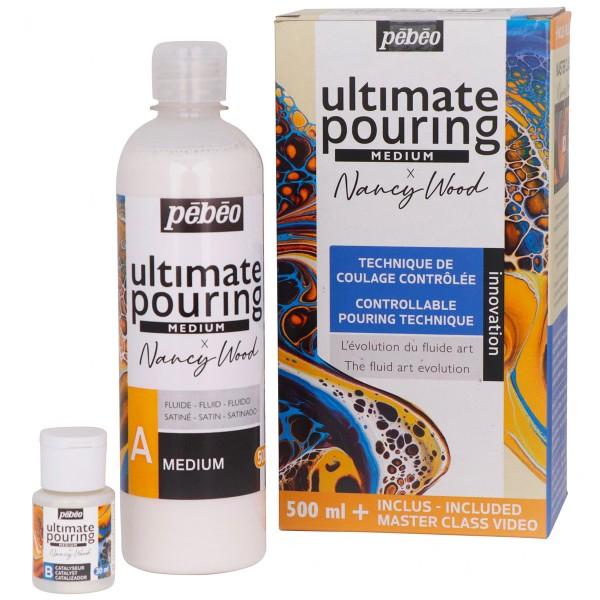 Médium Ultimate Pouring Pébéo - 500 ml - Photo n°1