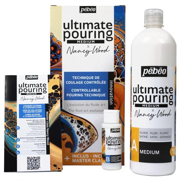 Médium Ultimate Pouring Pébéo - 1 L - Photo n°1
