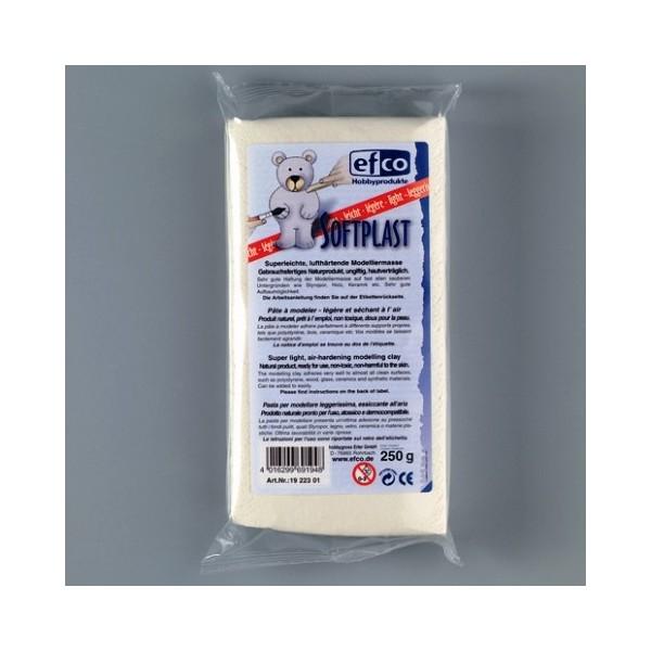 Pâte à modeler extrêmement légère, durcissant à l'air, Softplast, 250 g - Photo n°2