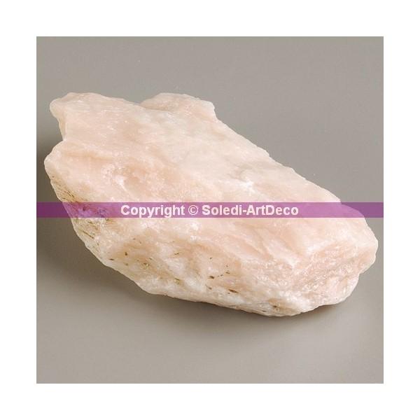15 kilos de morceaux de pierre tendre Stéatite Rose, emballés individuellement - Photo n°1