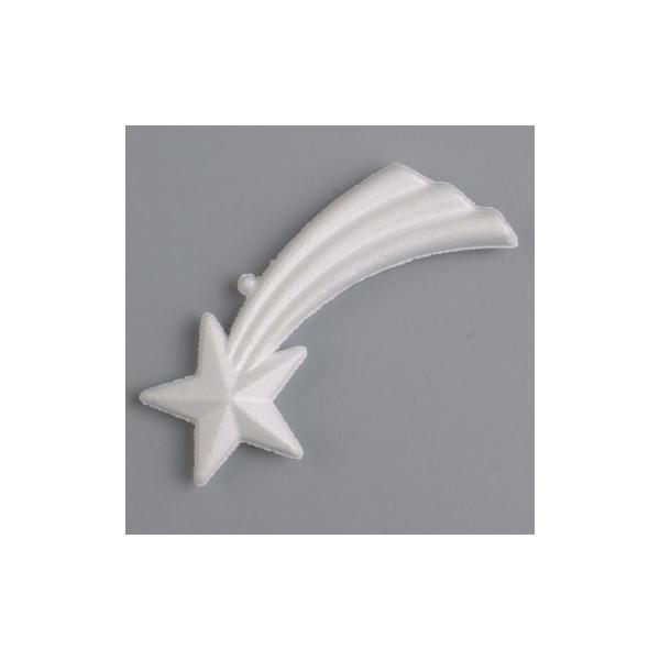 Etoile filante polystyrène dim. 13 cm, densité supérieure - Photo n°1